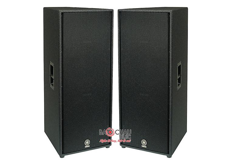 Loa hội trường Yamaha cho công suất lớn, hiệu suất hoạt động ổn định, âm thanh đầu ra sống động