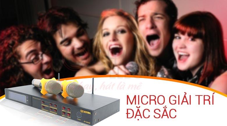 Micro BIKBJ-U550 - micro giải trí đặc sắc