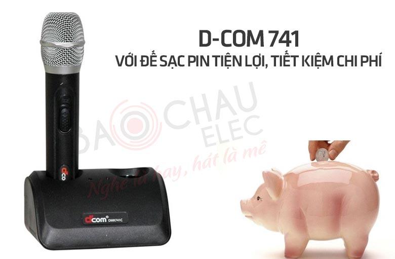 Micro D-Com 741 - với đế sạc tiện lợi, tiết kiệm