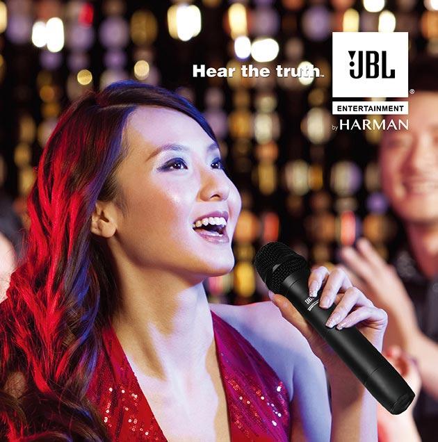 Bảng xếp hàng 5 micro không dây karaoke tốt nhất hiện nay: Micro không dây JBL VM300