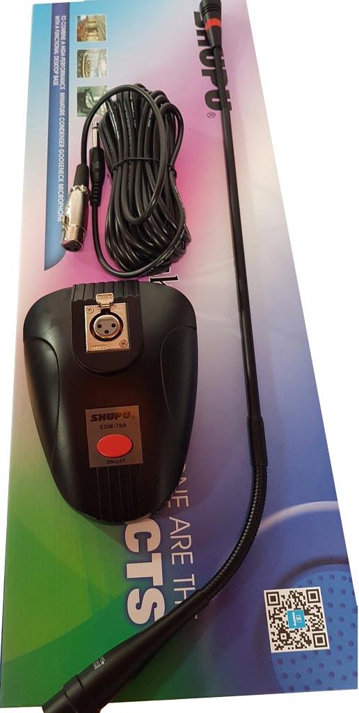 Micro cổ ngỗng Shupu EDM-78A