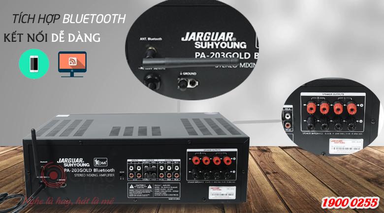 Amply Karaoke Jarguar Suhyoung trang bị nhiều kết nối