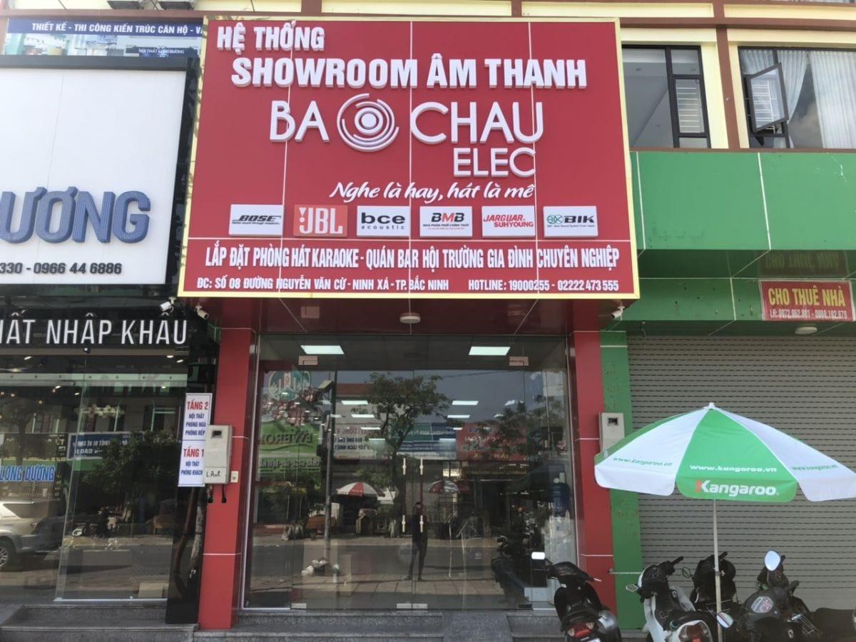 Showroom Bảo Châu Elec Bắc Ninh