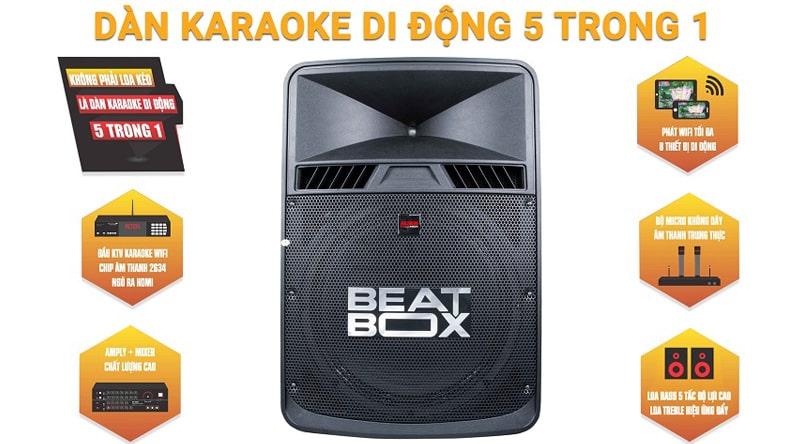 Loa kéo di động tiện lợi, karaoke mọi lúc mọi nơi