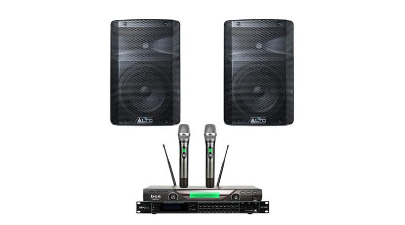 Dàn karaoke - Sân khấu Mini Alto 22 hiện đại, nhỏ gọn
