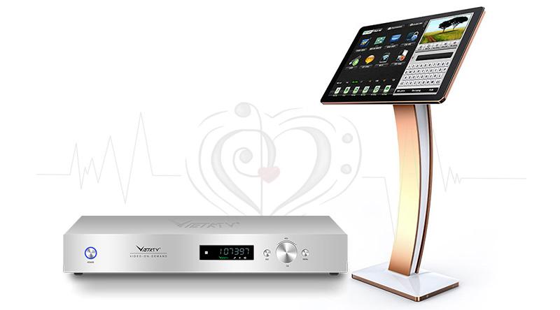 Combo đầu Karaoke Việt KTV HDPlus 4TB + Màn hình 22inch