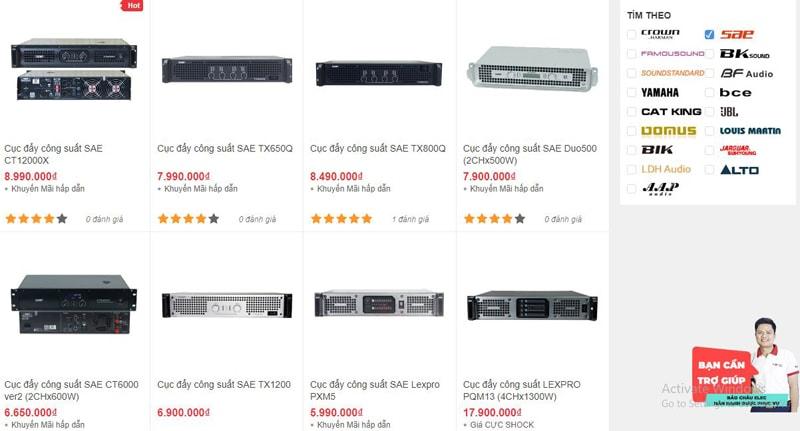 Bảo Châu Elec HCM bán cục đẩy SAE giá rẻ nhất thị trường