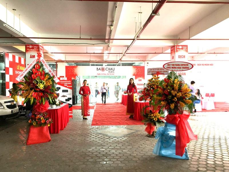 Showroom âm thanh Bảo Châu Elec tại TP. Đà Nẵng