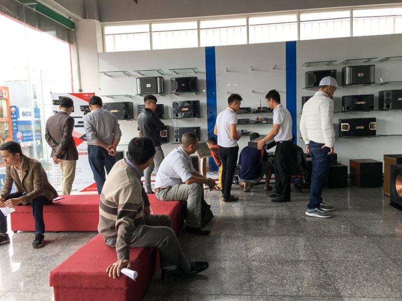 Showroom âm thanh Bảo Châu Elec Đà Nẵng