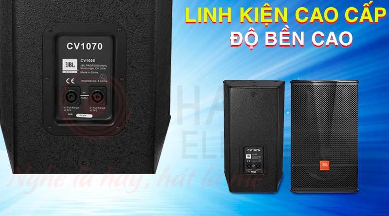 JBL CV1000 - Series được tạo nên từ nguồn linh kiện cao cấp