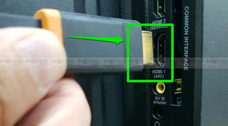 Sử dụngcổng HDMI (ARC)