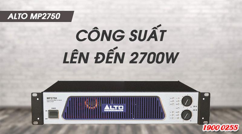 Cục đẩy Alto MP 2750 khuếch đại âm thanh mạnh mẽ