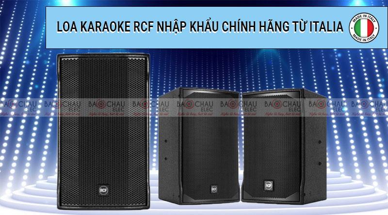 Loa karaoke RCF