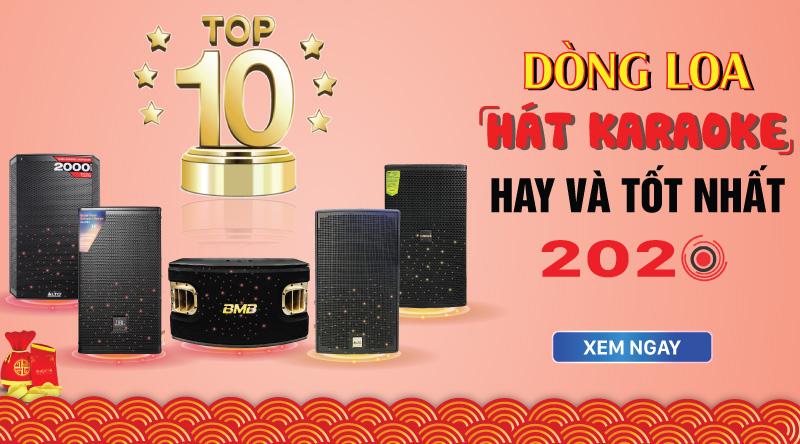 Top 10 dòng loa karaoke hay nhất hiện nay