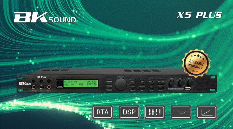 Vang số BK sound X5 Plus