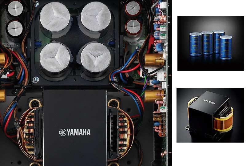 Amply Yamaha A-S1100 (Bạc) Cung cấp công suấtlớn cho âm thanh năng động, với phản ứng nhanh