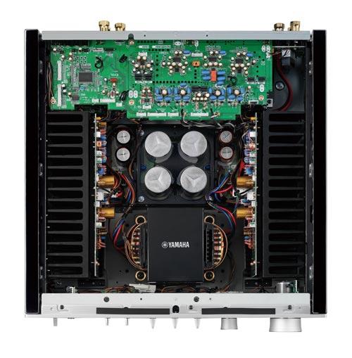 Amply Yamaha A-S1100 (Bạc) Thiết kế đối xứng theo đuổi tái tạo âm thanh nổi lý tưởng