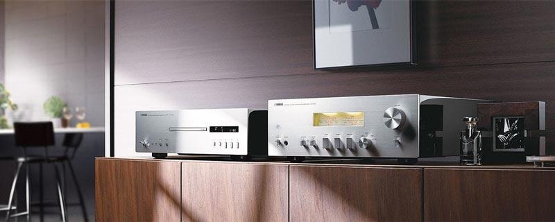 Amply Yamaha A-S1100 (Bạc) Bộ khuếch đại một đầu chuyên dụng cho tất cả các loại nguồn âm thanh