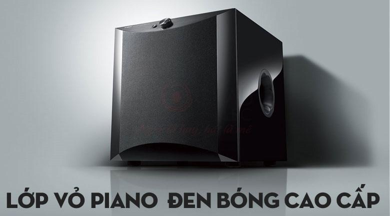 Lựa chọn ba lớp vỏ hoàn thiện bao gồm màuPiano của Loa Yamaha NS-SW1000 (Piano Black)