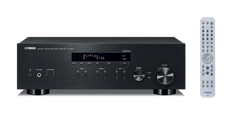 Amply Yamaha R-N303 vừa là ampli tích hợp 2 kênh, vừa kiêm nhiệm chức năng của bộ thu âm thanh không dây, network streaming và DAC giải mã