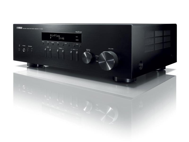Các tùy chọn kết nối không dây củaAmply Yamaha R-N303bao gồm Bluetooth, AirPlay và hệ thống âm thanh trực tuyến MusicCast của Yamaha.
