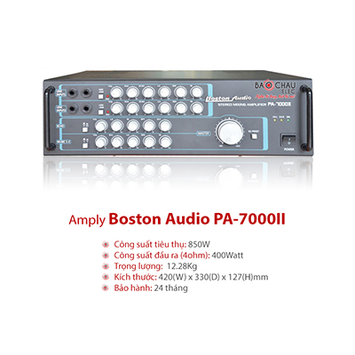 Amply Karaoke Boston PA 7000II