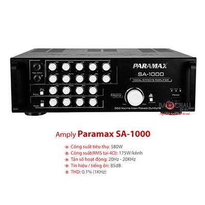Amply Karaoke Paramax SA 1000