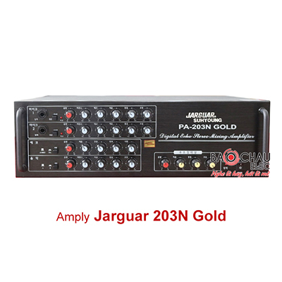 Amply Jarguar Suhyoung 2 kênh PA-203N Gold
