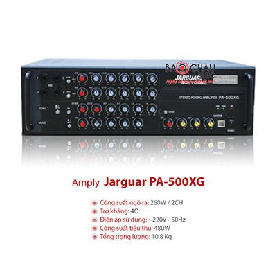 Amply Karaoke Jarguar 500XG