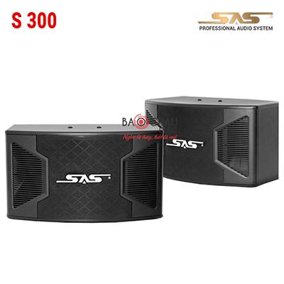 Loa Karaoke SAS S300 (bass 25cm)