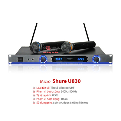 Micro Shure U830