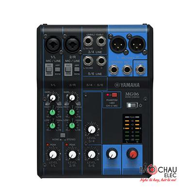 Bàn mixer Yamaha MG06
