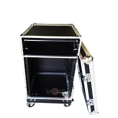 Tủ rack gỗ 12U (có Mixer)
