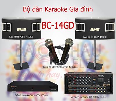 Dàn karaoke gia đình BC-14GD