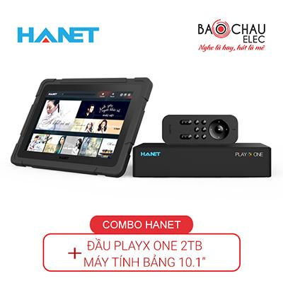 Combo Hanet (đầu karaoke PlayX One 2Tb + Smartlist)