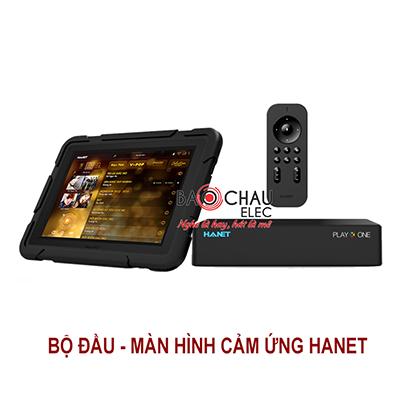 Combo Hanet (đầu karaoke PlayX One 4Tb + Smartlist)