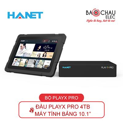 Combo Hanet (đầu PlayX Pro 4TB + Smarlist)