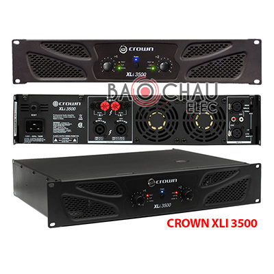 Cục đẩy Crown XLi3500 bãi (2CHx1000W)