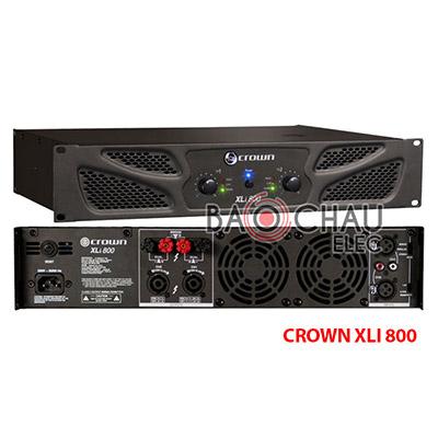 Cục đẩy Crown XLi800 (2CHx200W)