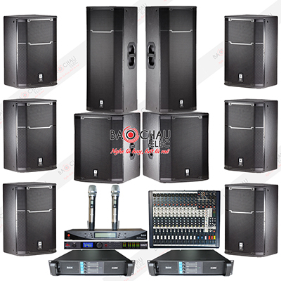 Dàn âm thanh hội trường cao cấp BC-HT02