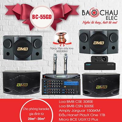 Dàn karaoke gia đình BC-55GD