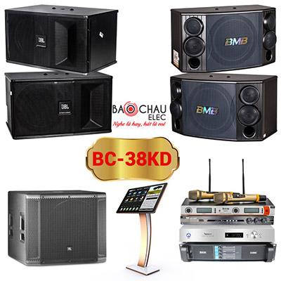 Dàn karaoke kinh doanh BC-38KD