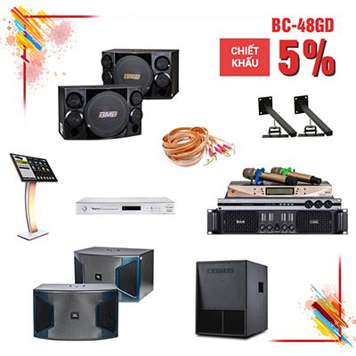 Dàn karaoke gia đình BC-48GD (new 2017)