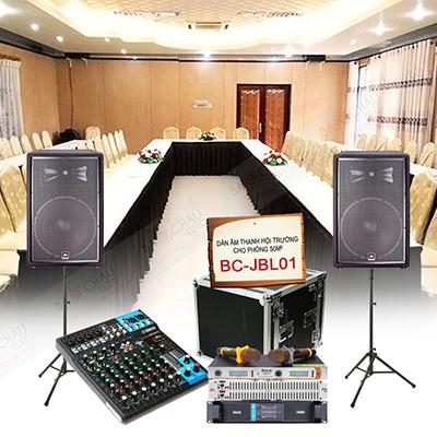 Dàn âm thanh hội trường nhỏ 50m2 BC-JBL01