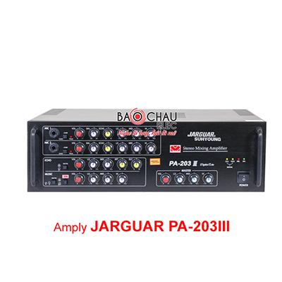 Amply Karaoke Jarguar Suhyoung PA 203III (2CHx100W)