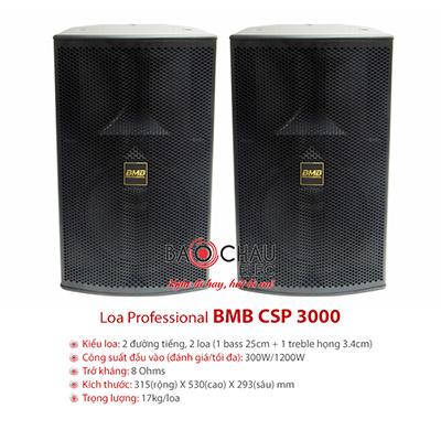 Loa Karaoke BMB CSP-3000 (full bass 25cm)