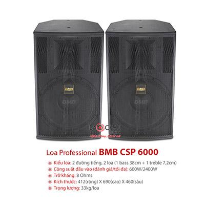 Loa Karaoke BMB CSP-6000 (full bass 40cm)