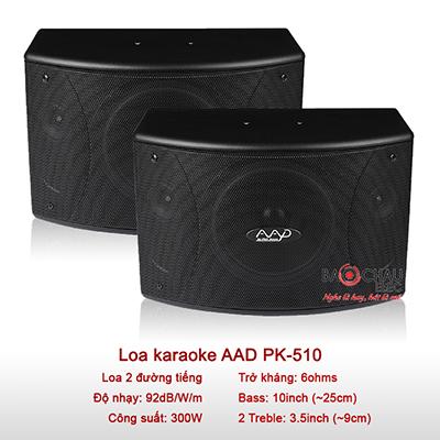 Loa karaoke AAD PK-510