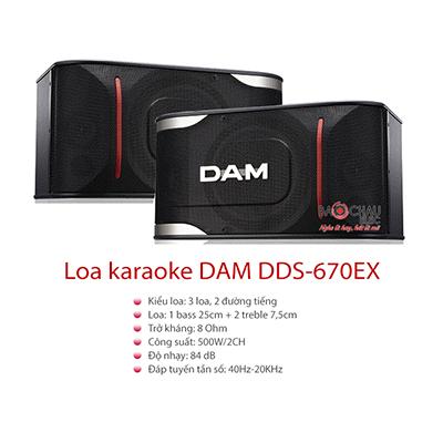 Loa Karaoke DAM DDS-670EX (bass 25cm)