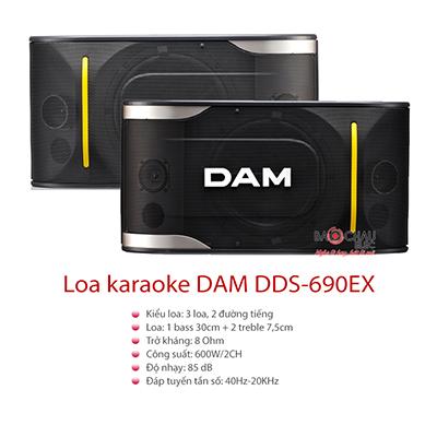 Loa DAM DDS-690EX (bass 30cm)